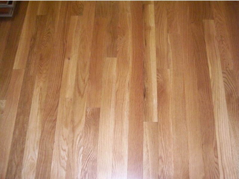 White oak hardwood flooring select grade
