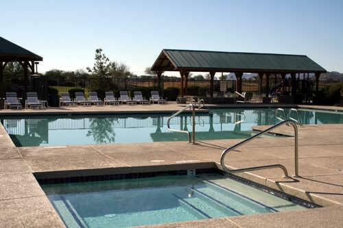 Johnson ranch homes for sale in san tan valley az for Pool builders queen creek az