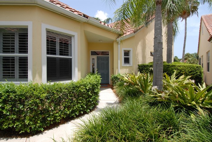 victoria island in grand harbor, vero beach florida, gated golf community