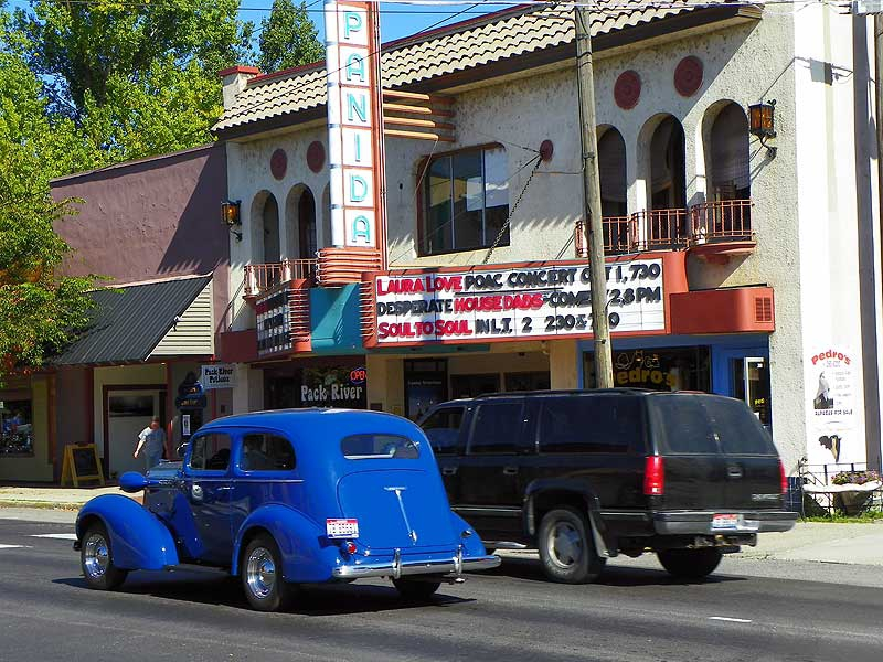 Historic Panida Theater in Sandpoint, Idaho