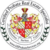 Certified Probate Real Estate Specialist Logo Awarded to John Occhi