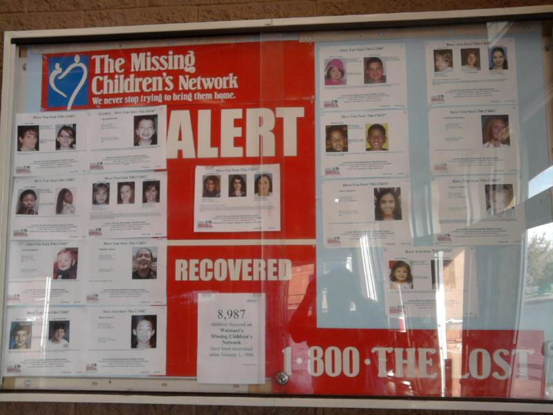 """Missing Children"" by Robert Swetz"