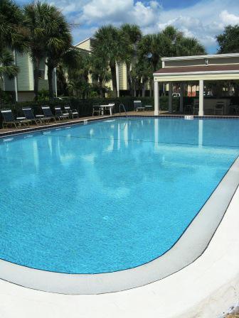 Pool at Paradise island