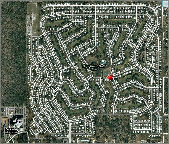 Spring Hill Florida Golf Course Homes For Sale High Point Senior
