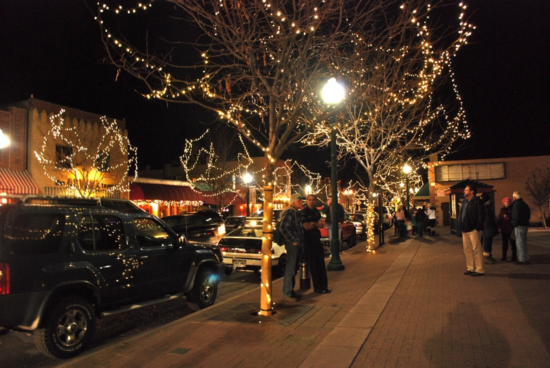 christmas, olde town arvada