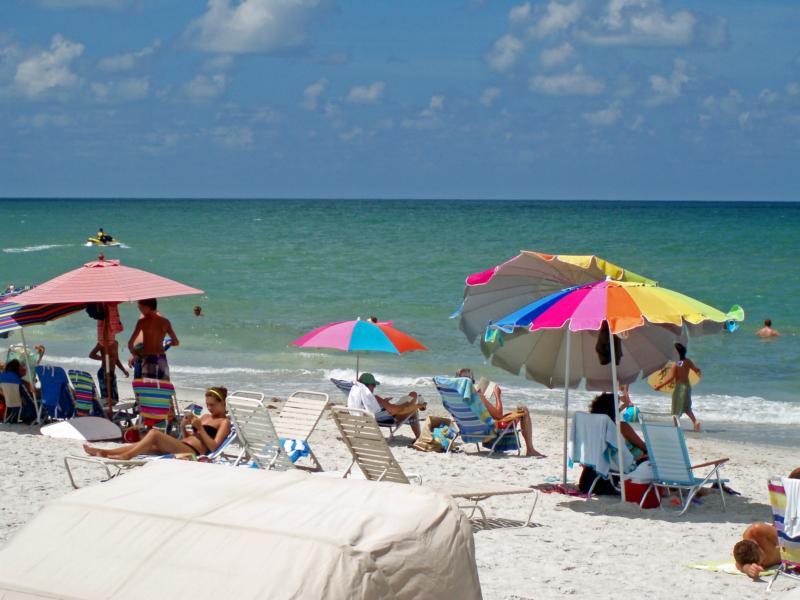 people enjoy on beach