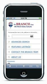 The Branch Team Mobile Site