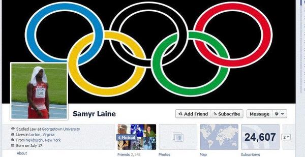 Samyr Laine Facebook Page