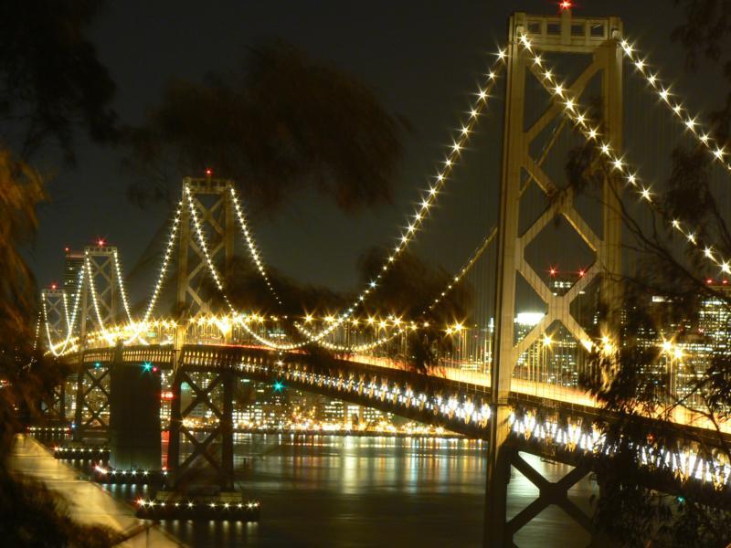 Rare Bay Bridge Photo By Brad Andersohn