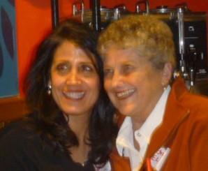 Susan Mangigian and Kate Elim