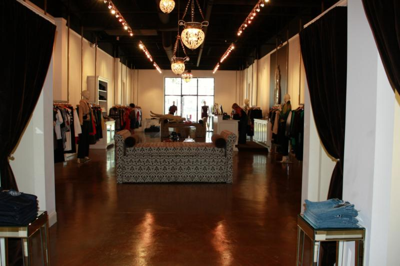 Blonde Boutique Interior in Five Points - Athens, GA
