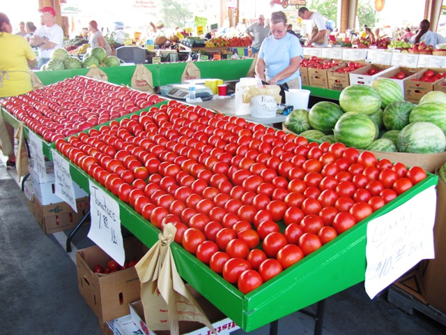 A Day At The State Farmer S Market Raleigh North Carolina