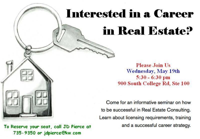 Career night for Real Estate in Lafayette, LA