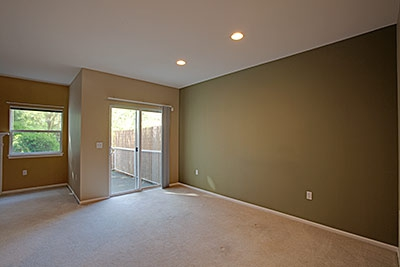ashburn townhome - dining room
