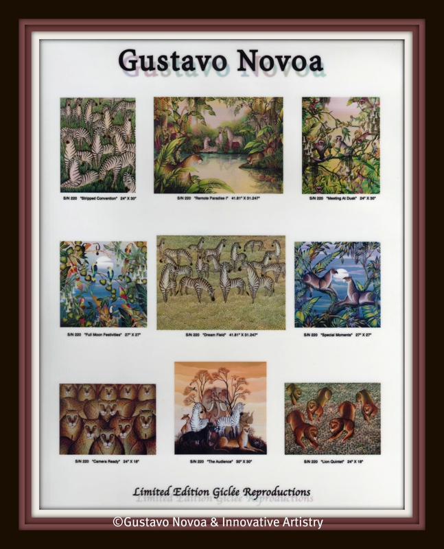 Gustavo Novoa Limited Editions