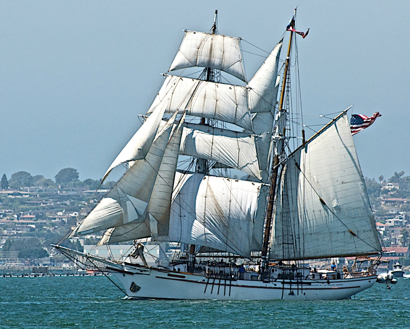 San Diego Tall Ship Parade and Festival