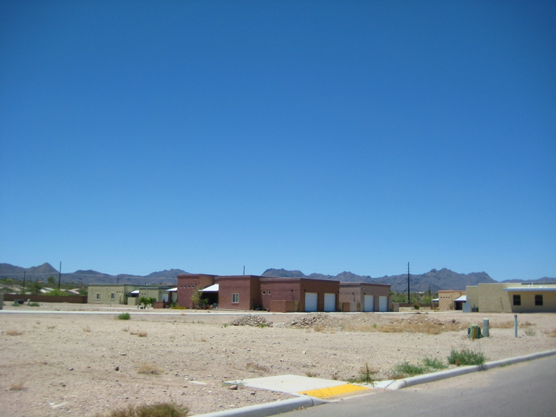 Energy Effecient Home sites For Sale In West Tucson Along Silverbell