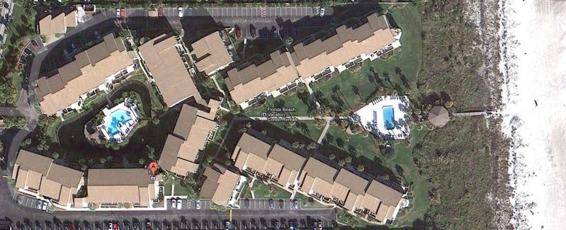 Ocean Villas Condos Site Map