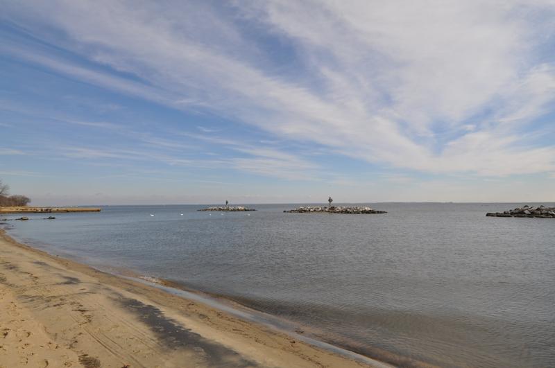 The Chesapeake Bay At Beverly Beach Maryland