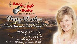 Patty Luther Business Card