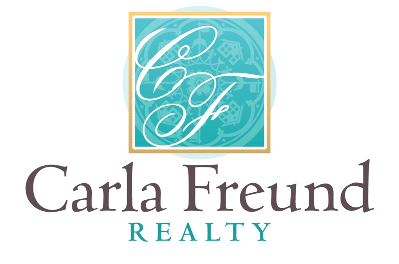 Carla Freund Realtor Logo Raleigh Durham Chapel Hill NC