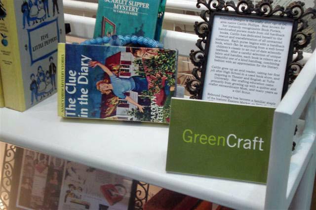 Book Purses Green Craft