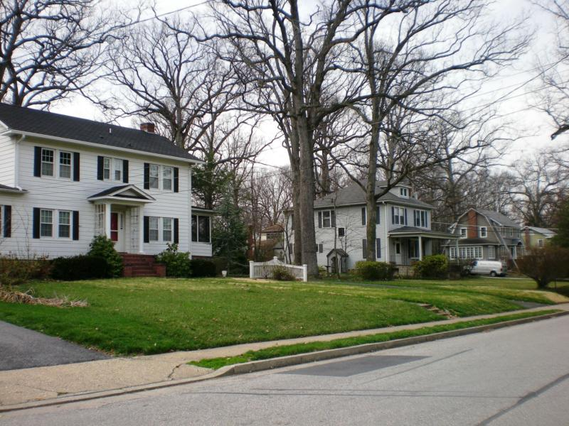 oak forest in catonsville md homes with a history
