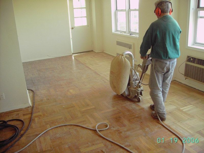 process of refinishing hardwood floors westchester county NY