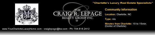 Myers Park / Charlotte Luxury Real Estate / Luxury Homes / Realty