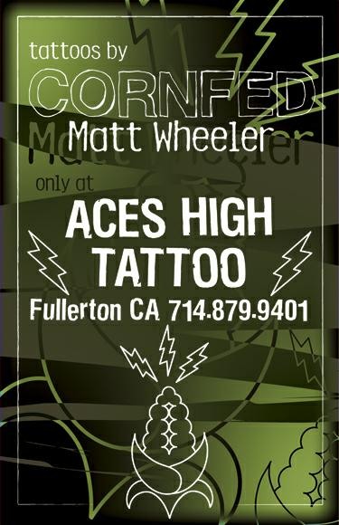 Matt Wheeler (The Cornfed Project) of Aces High is a Mighty Fine Artist!