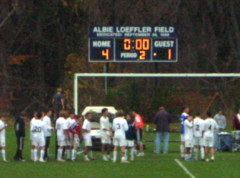 Staples Boys Soccer Wins 1st round in State Tournament