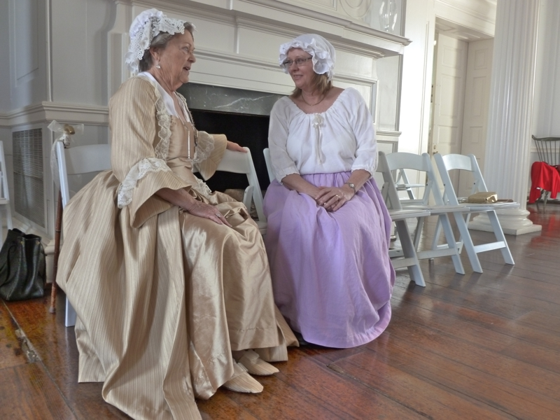 Daughters of the American Revolution - George's cousin