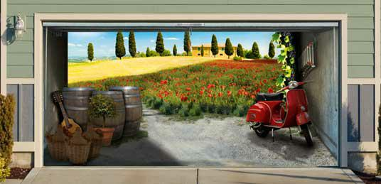 Turn Your Garage Into An Alpine Meadow!