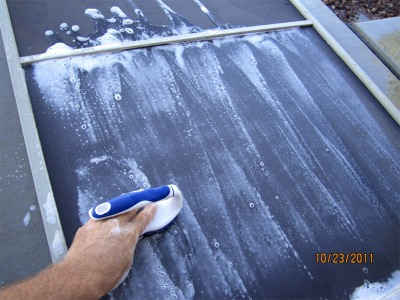 The Inspector Home Inspections in Mesa Arizona How to clean sun screens