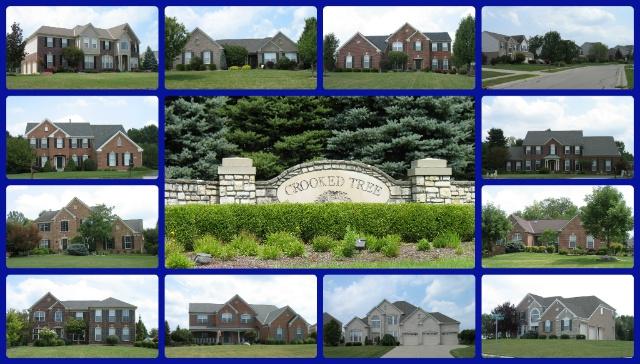 Crooked Tree community of Mason Ohio 45040
