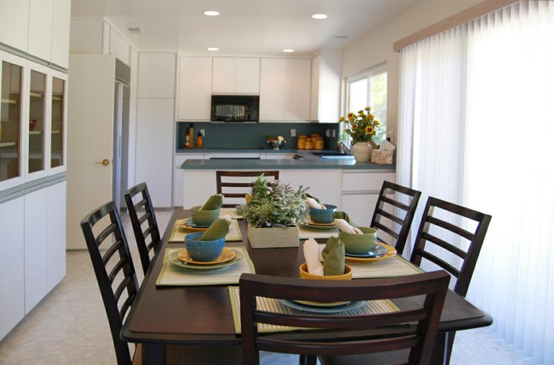 staging tips using fake food and setting tables. Black Bedroom Furniture Sets. Home Design Ideas