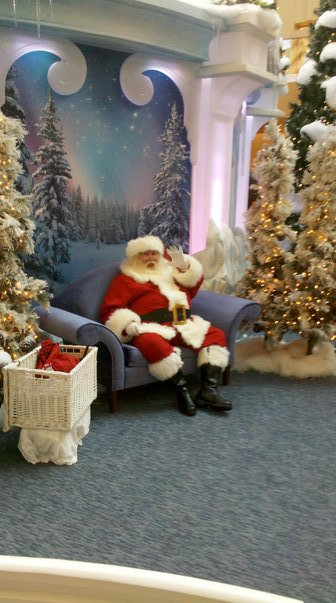 Santa at Northlake Mall