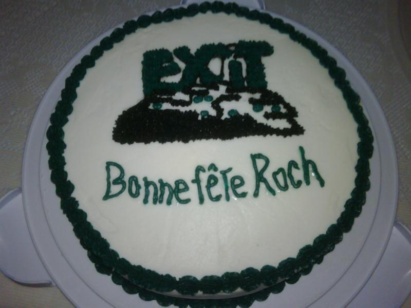 My Birthday And My Exit Realty Birthday Cake For The Office