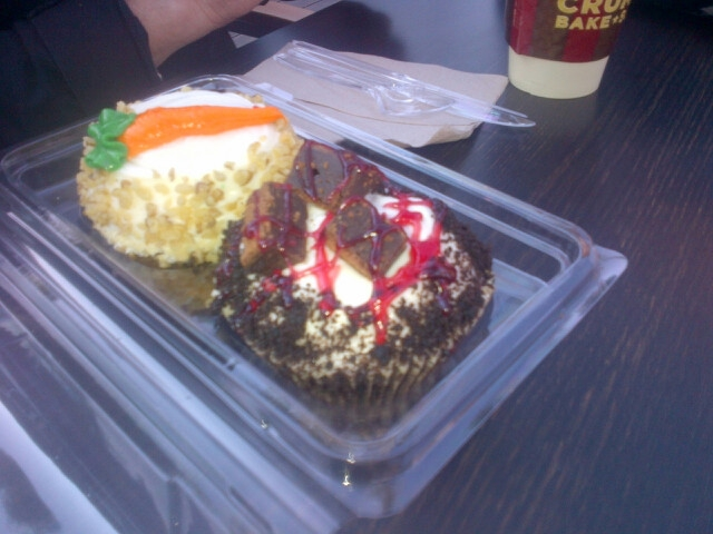 feast your eyes on these Crumbs Cupcakes in Malibu