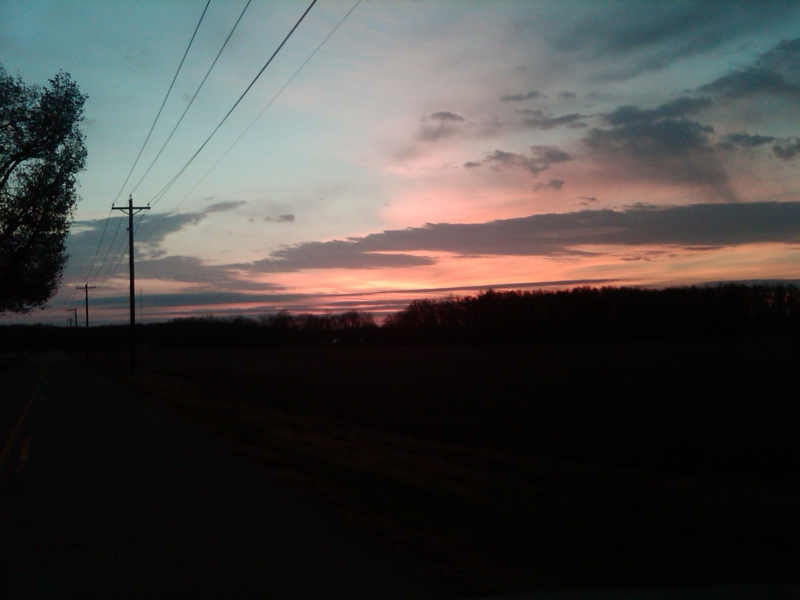 Warren County Ohio Sunrise November 22, 2010