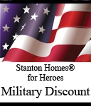 Military New Home Discount