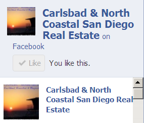 Carlsbad and North Coastal San Diego Real Estate oon Facebook