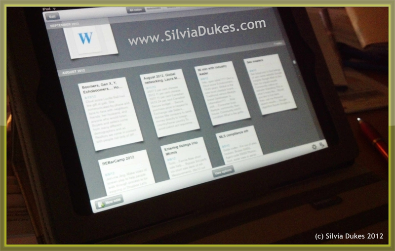 Going Paperless with Ipad Photo by Silvia Dukes