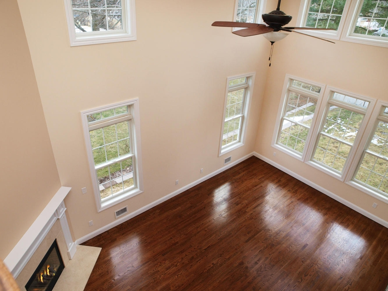 Two Story Foyer Ceiling Fan : Paramus open house new construction colonial