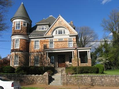 Historic homes in lynchburg va madison st for Home builders in lynchburg va