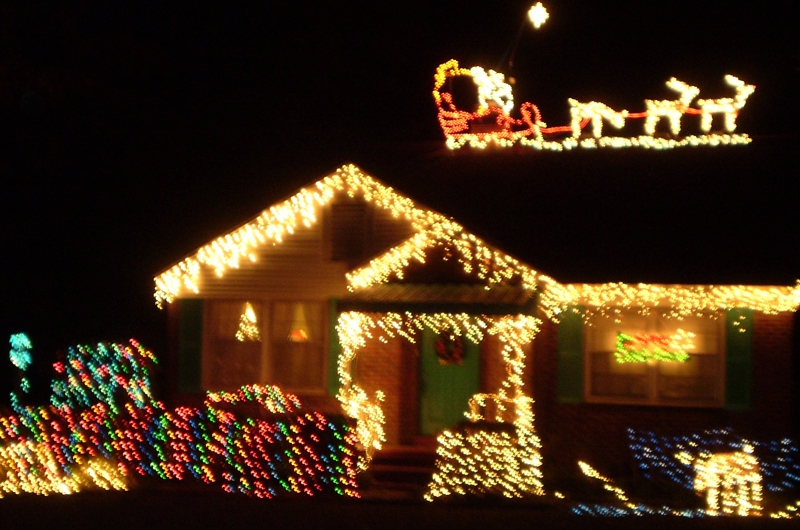 Christmas Photo Challenge Did You See Santa Claus Just