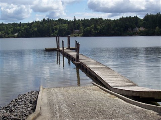 Timberlake Salt Water Dock