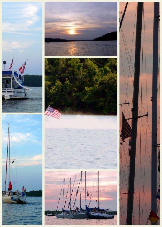 4th of July at Beaver Lake