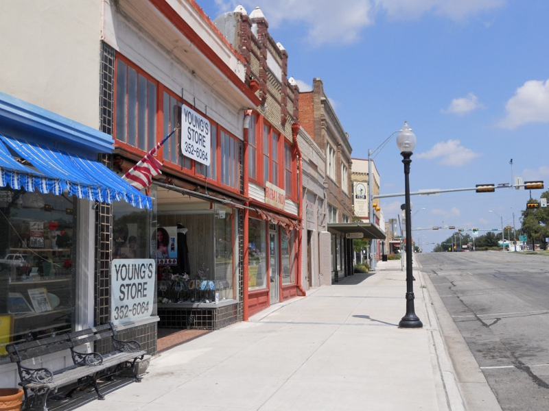 Downtown Taylor Texas