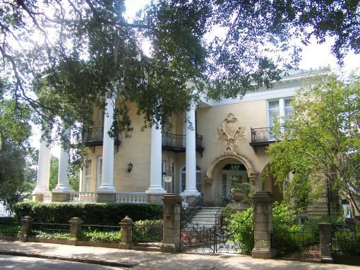 Savannah Ga Homes - Greek Revival
